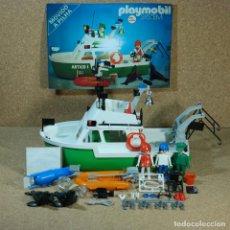 Playmobil: PLAYMOBIL TROL 23.72.2 COMPLETO SIN CAJA, BARCO VERDE ARTICO L , TELEVISIÓN TV PRIMERA ÉPOCA KLICKY. Lote 194977901