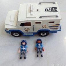 Playmobil: PLAYMOBIL FURGON Y DOS VIGILANTES DE SEGURIDAD. Lote 195044467