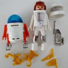 Playmobil: FAMOBIL ASTRONAUTAS FAMO SPACE REF. 3591 AÑOS 70/ 80 PLAYMOBIL. Lote 195069601
