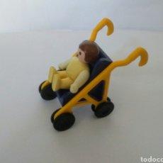 Playmobil: PLAYMOBIL MEDIEVAL CARRITO CON BEBE CASA VICTORIANA. Lote 195084588
