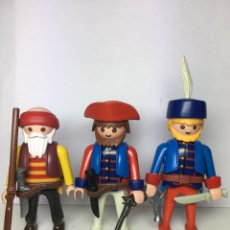 Playmobil: PLAYMOBIL COLONIAL MILITIA. FRANCO-INDIAN WAR. Lote 195104288