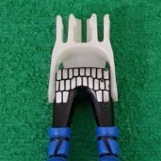 Playmobil: PLAYMOBIL PIERNAS NEGRAS BOTA AZUL COTA MALLA VIKINGOS MEDIEVAL CABALLERO BÁRBAROS ROMANOS CASTILLO. Lote 195136943