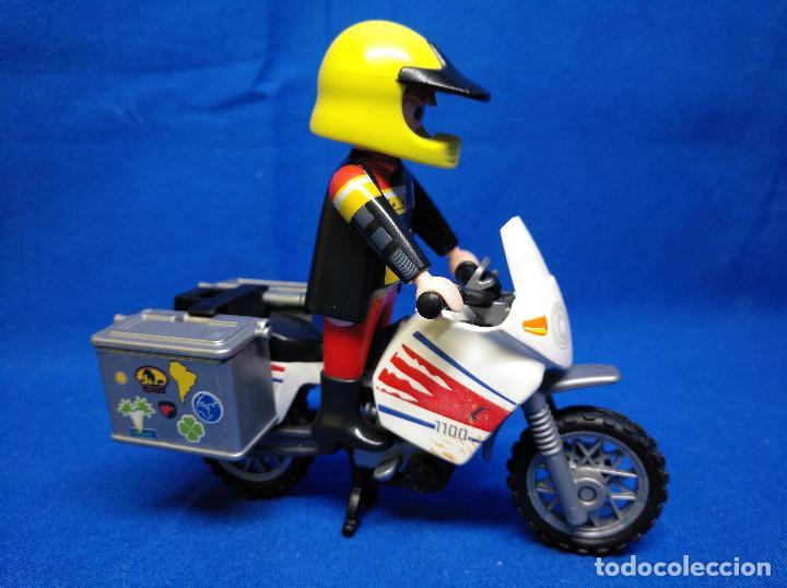Playmobil: Playmobil Motorista con moto REF 5438 - Foto 2 - 195149117