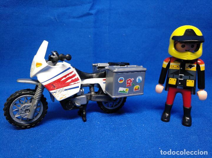 Playmobil: Playmobil Motorista con moto REF 5438 - Foto 3 - 195149117