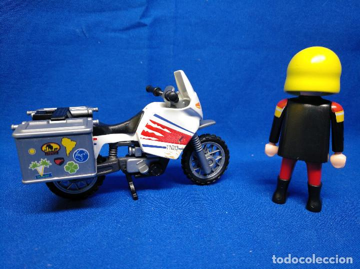 Playmobil: Playmobil Motorista con moto REF 5438 - Foto 4 - 195149117