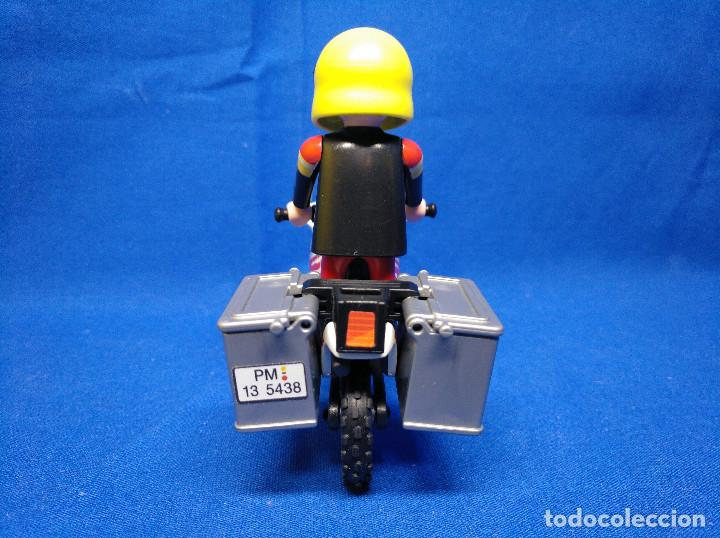 Playmobil: Playmobil Motorista con moto REF 5438 - Foto 5 - 195149117