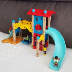 Playmobil: ATRACCIÓN PARQUE INFANTIL CON NIÑOS DE PLAYMOBIL. Lote 195201981
