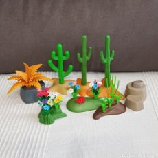 Playmobil: LOTE DE VEGETACIÓN PLAYMOBIL. Lote 195203325