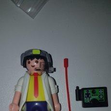 Playmobil: PLAYMOBIL CIENTÍFICO DE LA NASA ESPACIO ESPACIAL CON ACCESORIOS MUÑECO FIGURA. Lote 195246813