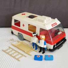 Playmobil: AMBULANCIA DE PLAYMOBIL VINTAGE 3254. Lote 195385186