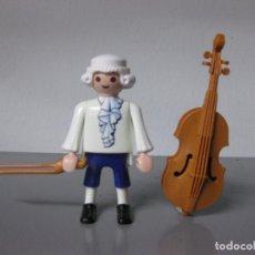 Playmobil: PLAYMOBIL MUSICO CLASICO CON VIOLONCHELO INSTRUMENTO MUSICA. Lote 195390543