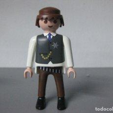 Playmobil: PLAYMOBIL FIGURA VAQUERO OESTE SHERIFF. Lote 195390548