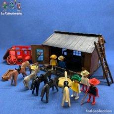 Playmobil: PLAYMOBIL - CASA MEDIEVAL PRIMERA ÉPOCA - CUSTOM REF. 3423 + REF. 3428 + EXTRAS - 1976. Lote 195393108