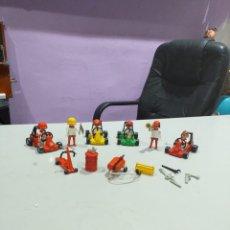Playmobil: LOTE DE GO KART RACING DE CLICK FAMOBIL 3523. AÑO 1979- VER LAS FOTOS. Lote 195439093