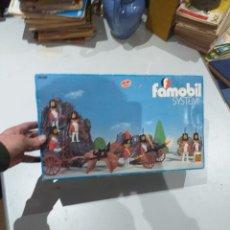 Playmobil: CAJA VACÍA ANTIGUA FAMOBIL SYSTEM. REFERENCIA 3402. SOLDADOS NAPOLEONICOS.. Lote 195439610