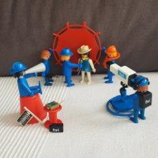Playmobil: EQUIPO DE TELEVISIÓN, VINTAGE, PLAYMOBIL. Lote 195449843