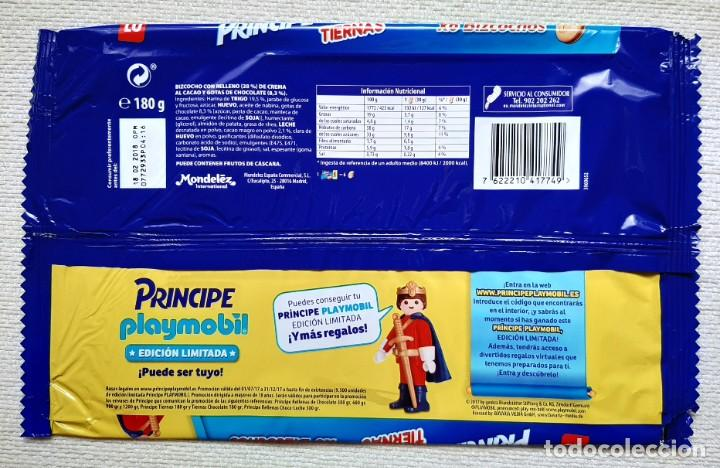 Playmobil: Envoltorio bolsa vacía promoción Playmobil Edición Limitada de galletas Príncipe - Foto 2 - 195508875