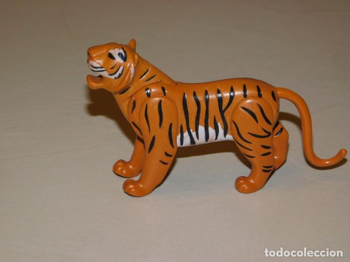 PLAYMOBIL *TIGRE* PREHISTORIA, SELVA, ANIMALES SALVAJES, ZOO ... INF. (Juguetes - Playmobil)