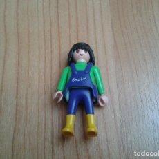 Playmobil: PLAYMOBIL -- MUÑECO CLICK -- OPERARIO -- MECÁNICO/A -- MONO O PETO TRABAJO -- ERWIN. Lote 195531648