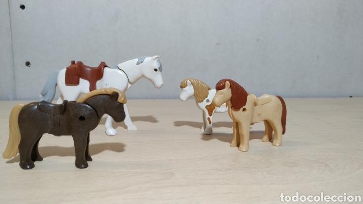 Lote figuras caballo y ponis segunda mano