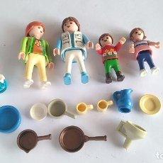 Playmobil: PLAYMOBIL LOTE FIGURAS MÁS UTENSILIOS. Lote 198202832