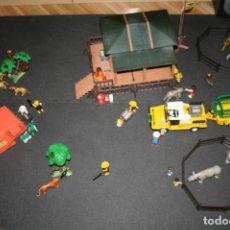 Playmobil: PLAYMOBIL SAFARI NGORONGORO 3189 3364 3413 3433 3528...ESTACIÓN, JEEP, REMOLQUE, TIENDA, ANIMALES.... Lote 199040677