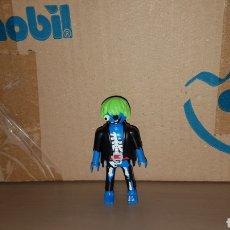 Playmobil: FIGURA PLAYMOBIL PIRATA LOCO FANTASMA ESQUELETO MUÑECO GEOBRA CAZAFANTASMAS HALLOWEEN TERROR. Lote 199176646