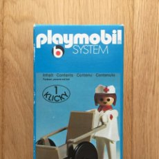 Playmobil: PLAYMOBIL 3362 NUEVO ENFERMERA 1 KLICKY 1976 VINTAGE. Lote 199247356