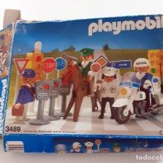 Playmobil: ANTIGUA CAJA VACIA PLAYMOBIL SYSTEM 3489. Lote 199411040