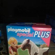 Playmobil: PLAYMOBIL SPECIAL PLUS 5291 NIÑA CON PONY. Lote 201709320