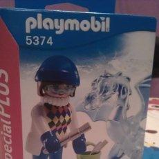 Playmobil: PLAYMOBIL SPECIAL PLUS 5374 ESCULTORA DE HIELO CON DRAGÓN. Lote 201709393