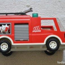 Playmobil: CAMION DE BOMBEROS DE EMERGENICA CON LUZ 3880 AÑO 1996. Lote 202418126