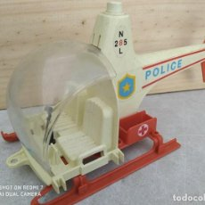 Playmobil: HELICOPTERO POLICIA PLAYMOBIL CLASICO JUGUETE. Lote 203313832