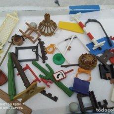 Playmobil: LOTE PIEZAS VARIAS PLAYMOBIL, PLANTAS, HAMACAS, SEÑAS, ECT. Lote 203315141