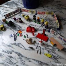 Playmobil: PLAYMOBIL MOTOS - 9958 - MOTOS DE CARRERA - TALLER - PODIO. Lote 204057658