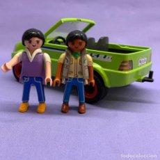 Playmobil: PLAYMOBIL 6111 COCHE VERDE + 2 CLICKS. Lote 204699980