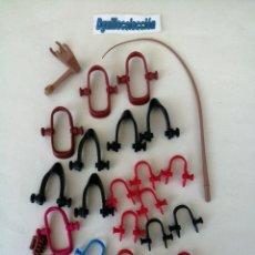 Playmobil: PLAYMOBIL ACCESORIOS CABALLOS CARROS CARRETAS DILIGENCIA OESTE MEDIEVAL. Lote 204776427