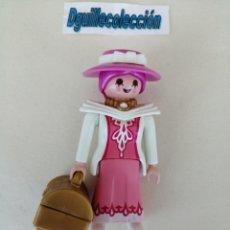 Playmobil: PLAYMOBIL FIGURA MUJER DAMA ELEGANTE ÉPOCA VICTORIANA. Lote 204987778