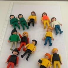 Playmobil: LOTE 12 PLAYMOBIL PRIMERA ÉPOCA 1974. Lote 205175366