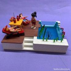 Playmobil: PLAYMOBIL 5575 PISCINA TERRAZA - CUSTOM. Lote 205807242