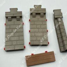 Playmobil: PLAYMOBIL 3268 CASTILLO PASARELA PAREDES AMPLIACIÓN. Lote 205865616