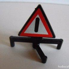 Playmobil: PLAYMOBIL. SEÑAL DE TRÁFICO DE SUELO. PRIMERA ÉPOCA.. Lote 206466255
