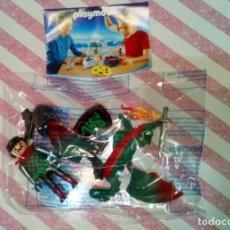 Playmobil: PLAYMOBIL KNIGHTS, CABALLERO CON DRAGON, EN SU SOBRE, SIN ABRIR - 2015. Lote 206490086