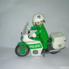 Playmobil: PLAYMOBIL MEDIEVAL MOTO DE POLICIA CON PILOTO. Lote 206778483
