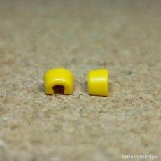 Playmobil: PLAYMOBIL PAR DE PUÑOS CORTOS AMARILLOS, MUÑEQUERAS ACCESORIOS SOLDADOS NORDISTAS OESTE. Lote 207149593