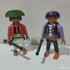Playmobil: PLAYMOBIL LOTE 2 FIGURAS PIRATAS,MEDIEVAL.... Lote 207153990