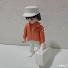 Playmobil: PLAYMOBIL FIGURA HOMBRE MÉDICO ,ENFERMERO, VICTORIANO,CITY.... Lote 207156101