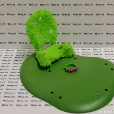 Playmobil: PLAYMOBIL TRONO FLORES HADA PRINCESA SUELO HIERBA CÉSPED CORONA TIARA CINTA CABEZA BOSQUE ASIENTO. Lote 207240522