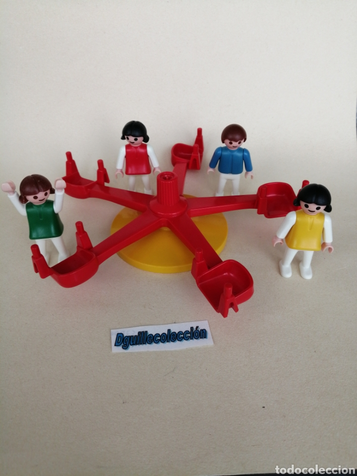 PLAYMOBIL PARQUE INFANTIL COLUMPIOS CIUDAD CAMPO (Juguetes - Playmobil)