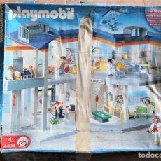 Playmobil: PLAYMOBIL CLINICA HOSPITAL 4404 LOTE CON MUCHA PIEZAS. Lote 208291948